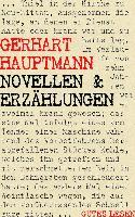 Cover-Bild zu Novellen und Erzählungen (eBook) von Hauptmann, Gerhart