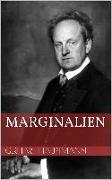 Cover-Bild zu Marginalien (eBook) von Hauptmann, Gerhart