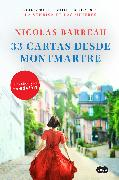 Cover-Bild zu Barreau, Nicolas: 33 cartas desde Montmartre / The Love Letters from Montmartre