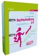 Cover-Bild zu Rechtschreibung, Klasse 3/4 von Aufmuth, Stefanie