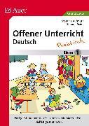 Cover-Bild zu Offener Unterricht Deutsch - praktisch Klasse 1 von Aufmuth, Stefanie