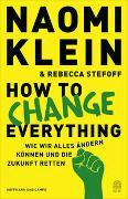 Cover-Bild zu How to change everything von Klein, Naomi