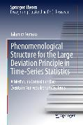 Cover-Bild zu Phenomenological Structure for the Large Deviation Principle in Time-Series Statistics (eBook) von Nemoto, Takahiro