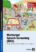 Cover-Bild zu Marburger Sprach-Screening (MSS) von Holler-Zittlau, Inge