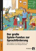 Cover-Bild zu Der große Spiele-Fundus zur Sprachförderung von Holler-Zittlau, Inge