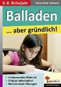 Cover-Bild zu Balladen ... aber gründlich! (eBook) von Tiemann, Hans-Peter