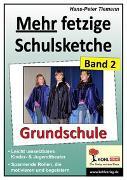 Cover-Bild zu Mehr fetzige Schulsketche (Grundschule) (eBook) von Tiemann, Hans-Peter