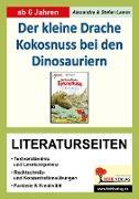 Cover-Bild zu Der kleine Drache Kokosnuss bei den Dinosauriern - Literaturseiten (eBook) von Lamm, Alexandra