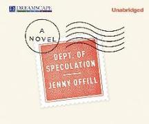 Cover-Bild zu Offill, Jenny: Dept. of Speculation