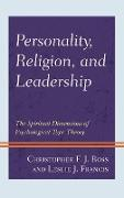 Cover-Bild zu Ross, Christopher F. J.: Personality, Religion, and Leadership