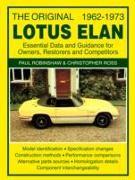 Cover-Bild zu Robinshaw, Paul: The Original Lotus Elan - Essential Data & Guidance for Owners, Restorers & Competitors