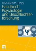Cover-Bild zu Handbuch Psychologie und Geschlechterforschung von Steins, Gisela (Hrsg.)
