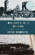 Cover-Bild zu Klemperer, Victor: I Will Bear Witness, Volume 2