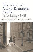 Cover-Bild zu Klemperer, Victor: The Lesser Evil