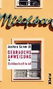 Cover-Bild zu Gebrauchsanweisung für Ostdeutschland (eBook) von Schmidt, Jochen
