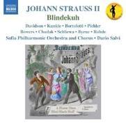 Cover-Bild zu Johann Strauss II: Blindekuh (Operette in 3 Akten) von Davidson, Robert (Solist)