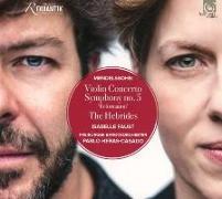 Cover-Bild zu Violinkonzert, op. 64 Die Hebriden, Konzert-Ouvertüre, op. 26 Sinfonie Nr. 5 op. 107 »Reformation« von Mendelssohn Bartholdy, Felix (Komponist)