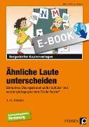 Cover-Bild zu Ähnliche Laute unterscheiden (eBook) von Rehschuh-Blasse, Ulrike