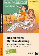 Cover-Bild zu Das einfache Satzbau-Training von Rehschuh-Blasse, Ulrike