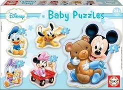 Cover-Bild zu Educa Puzzle. Baby Puzzles Mickey 3/3x4/5 Teile von Educa (Hrsg.)