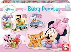 Cover-Bild zu Educa Puzzle. Baby Puzzles Minnie 3/3x4/5 Teile von Educa (Hrsg.)