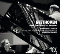 Cover-Bild zu Klavierkonzerte Nr. 2 & 5 von Beethoven, Ludwig van (Komponist)