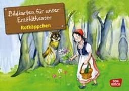 Cover-Bild zu Rotkäppchen. Kamishibai Bildkartenset von Lefin, Petra (Illustr.)