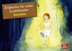 Cover-Bild zu Bildkarten für unser Erzähltheater: Sterntaler von Lefin, Petra (Illustr.)