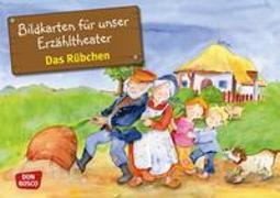 Cover-Bild zu Das Rübchen. Kamishibai Bildkartenset von Lefin, Petra (Illustr.)