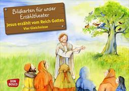 Cover-Bild zu Jesus erzählt vom Reich Gottes. Vier Gleichnisse. Kamishibai Bildkartenset von Arnold, Monika