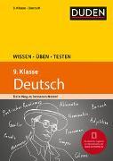 Cover-Bild zu Wissen - Üben - Testen: Deutsch 9. Klasse von Steinhauer, Anja