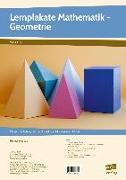 Cover-Bild zu Lernplakate Mathematik - Geometrie von Maubach, Thomas