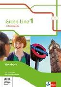 Cover-Bild zu Green Line 1. 2. Fremdsprache. Workbook mit 3 Audio-CDs und Übungssoftware. Klasse 6