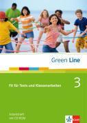 Cover-Bild zu Green Line 3. Fit für Tests und Klassenarbeiten. Arbeitsheft und CD-ROM mit Lösungsheft