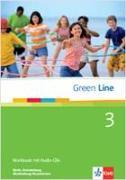 Cover-Bild zu Green Line 3. Workbook mit Audio CD. Berlin, Brandenburg, Mecklenburg-Vorpommern