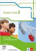 Cover-Bild zu Green Line. Fit für Tests und Klassenarbeiten, Arbeitsheft mit Lösungsheft und CD-ROM 6. Klasse. Ausgabe Baden-Württemberg ab 2016