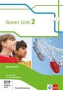 Cover-Bild zu Green Line 2. Workbook mit Audio-CDs und Übungssoftware 6. Ausgabe Baden-Württemberg