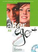 Cover-Bild zu Alter ego+ 2. Kursbuch mit CD-ROM von Hugot, Catherine