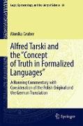 "Cover-Bild zu Alfred Tarski and the ""Concept of Truth in Formalized Languages"" von Gruber, Monika"