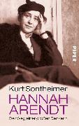 Cover-Bild zu Hannah Arendt von Sontheimer, Kurt