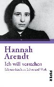 Cover-Bild zu Ich will verstehen von Arendt, Hannah