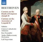 Cover-Bild zu Kantate auf den Tod Kaiser Josephs II. WoO 87 von Beethoven, Ludwig van (Komponist)