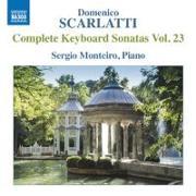 Cover-Bild zu Klaviersonaten Vol.23 von Scarlatti, Domenico Scarlatti