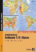 Cover-Bild zu Stationenlernen Erdkunde 7./8. Klasse von Kindl, Markus