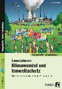 Cover-Bild zu Lernstationen Klimawandel und Umweltschutz von Jebautzke, Kirstin