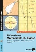 Cover-Bild zu Stationenlernen Mathematik 10. Klasse von Röser, Thomas