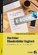Cover-Bild zu Startklar: 8 Stundenbilder Englisch 5. Klasse (eBook) von Bojes, Manfred