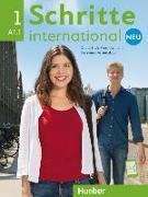 Cover-Bild zu Niebisch, Daniela: Schritte international Neu 1. A1/1. Kursbuch + Arbeitsbuch mit CD
