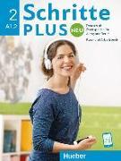 Cover-Bild zu Bovermann, Monika: Schritte plus Neu 2. A1.2. Kursbuch + Arbeitsbuch mit Audio-CD