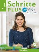 Cover-Bild zu Bovermann, Monika: Schritte plus Neu 1. A1/1. Kursbuch + Arbeitsbuch mit CD zum Arbeitsbuch